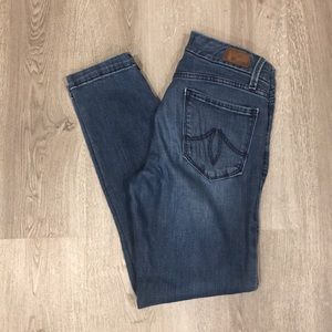 Level 99 Lily Crop Skinny Straight Jeans Size 26
